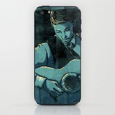 Guitarist iPhone & iPod Skin by Hunter Art - $15.00