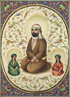 شمایل حضرت علی و حسنین (ع)