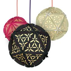 Patterned Pendant Shades