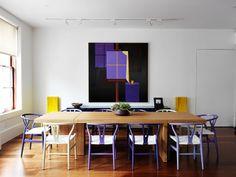 Sala de jantar de 'Tribeca Loft'