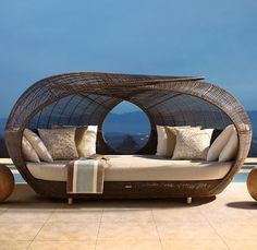 If I had this at my house I think I would quit my job, just so I could lounge in this all day, every day.