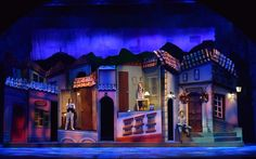 Letters to Santa Clause. MISI Producciones. Bogota, Colombia. Scenic design by Paul Tate dePoo III. Lighting by Cory Pattak. 2015