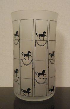 Beautiful Lobmeyr Matte Glassware Designed by Josef Hoffmann Horse Design   eBay