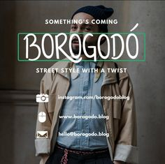 Spoiler alert: the launching is tomorrow. Just in time to inspire the weekend... but the explanation of what Borogodó is was posted already. Link in bio.