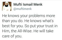 100% true..Allah you have always looked after me and provided for me however low or helpless I may have been you loved me more than anyone and gave me everything I needed or prayed for..Allah thank you so much for helping me through my tough times and providing for me.. please My Lord continue to help me have mercy on me and provide me with strength and patients to bear whatever trials and remember that you are sufficient for me..