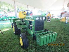 John Deere 140 garden tractor
