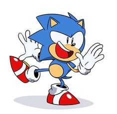Classic Sonic Running Animation By Elesis Knight Sonic