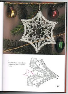 Bobbin Lace, Christmas Decorations, Xmas, Tapestry, Embroidery, Crochet, Lace, Doilies, Stars