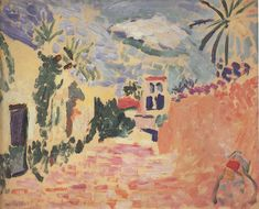 Street at Biskra - Matisse