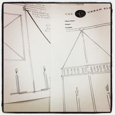 The original renderings/submissions for our Chisholm Hall lantern #wayback #design