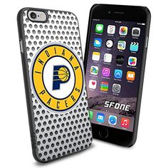 """Indiana Pacers Basketball White iPhone 6 4.7"""" Case Cover Protector for iPhone 6 TPU Rubber Case SHUMMA http://www.amazon.com/dp/B00VQZTAYU/ref=cm_sw_r_pi_dp_7Eecwb1D4PRSQ"""