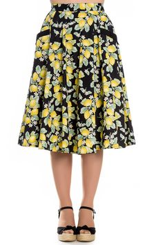 Hell Bunny Leandra 50's Skirt | Abernathy's