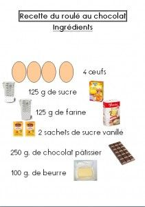 roule recette 1 Pastry Cook, Little Chef, Easy Cooking, Yummy Cakes, Kids Meals, Sweet Recipes, Delicious Desserts, Food And Drink, Muffins