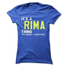 Cool T-shirt It's an RIMA thing, Custom RIMA T-Shirts Check more at https://designyourownsweatshirt.com/its-an-rima-thing-custom-rima-t-shirts.html