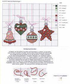 Вышиваем елочные игрушки — схема вышивок к Новому году | Мой Милый Дом — идеи рукоделия, вязание, декорирование интерьеров