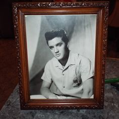 ELVIS PRESLEY Hand Signed Autographed Photo by JunkDrunkPicker on Etsy