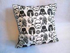 Star Wars large cushion by missfitclothing on Etsy, $20.00