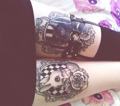 Okay. I said that I don't want to have a tattoo on my thigh but maybe someday I have a thigh tattoo.