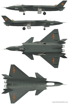 Military Aircraft - Russian J-20 Stealth Fighter