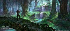 Elder Scrolls Online Grahtwood, Jeremy Fenske on ArtStation at https://www.artstation.com/artwork/elder-scrolls-online-grahtwood