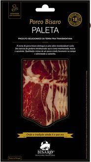 Paleta de porco bísaro criada em campo, fatiada 100 gr