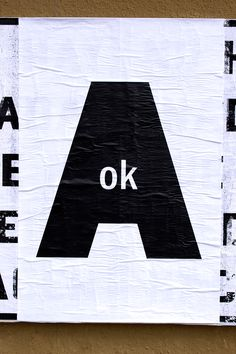 "ficciones-typografika:Matt Nichol, Ficciones Typografika 291 (24""x36""). Installed on March 15, 2014. More on Ficciones Typografika."