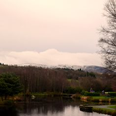 Aughrim Co Wicklow / Clickasnap Snow Mountain, Image Types, Outdoors, River, Sunset, Landscape, Nature, Outdoor, Naturaleza