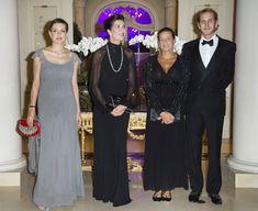 Acompañada de su madre, Carolina de Mónaco, su hermano Andrea y su tía, la princesa Estefanía, Carlota Casiraghi acudió al 50º aniversario de la Fundación AMADE