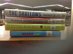 50 best book spine poetry images on pinterest book spine poem and disease books included the shallows by nicholas carr plague fandeluxe Image collections