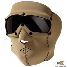 Swiss Eye SWAT Mask - Coyote - Smoke