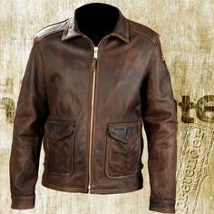 A leather jacket so Indiana Jones won't get scratched by torns or other stuff!