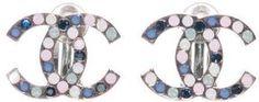 Vintage Chanel / ShopStyle(ショップスタイル): Chanel ヴィンテージ CoCoクリップイヤリング