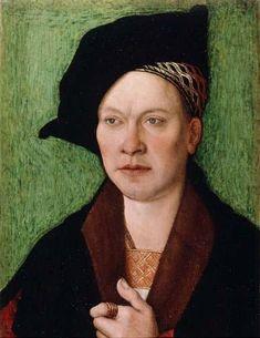 """""""Portrait d'un gentilhomme"""" - Bernhard Strigel 1520"""