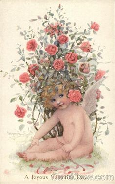 A Joyous Valentine Day Cupid