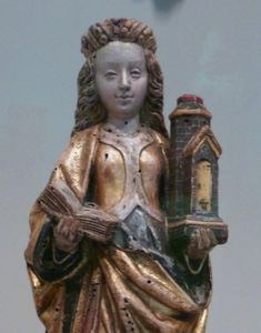 Saint Barbara, V & A Museum, Buddha, Saints, Tower, Statue, London, Art, Art Background