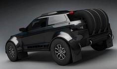 Range Rover Evoque readies for Dakar 1
