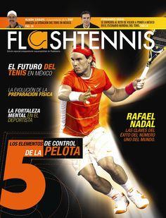 Rafael Nadal en la portada de Flashtennis No. 1  www.flashtennis.com