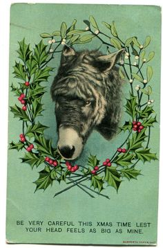 Is it weird ?: Weird Vintage Christmas Cards | Weird Vintage ...