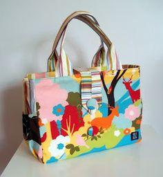 Taška (nejen) na kočárek vel. L / Zboží prodejce Not Just Mom Stroller Bag, Baby Sewing, Diaper Bag, Purses, Boho, Bag Patterns, Inspiration, Wallets, Bag
