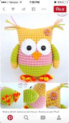 graduation owl - free crochet pattern Crochet ...