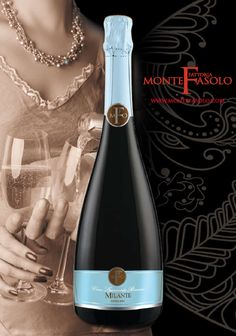 #Vino #Spumante Milante - Fattoria Monte Fasolo by #Francescon & #Collodi #Italy #etichette_vino