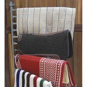 CMW - 10-Arm Wall Mounted Horseman Saddle Pad/Blanket Rack - NRSworld.com