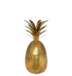 GROS ananas seau à glace en laiton ananas boite par JudysJunktion