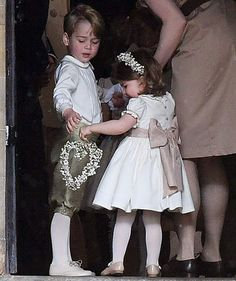 Prince George and Princess Charlotte | The royal siblings were in the wedding party.
