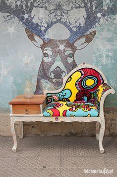 Deer wallpaper by Fototapeta4u.pl