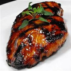 Asian Grilled Chicken 1/3 cup soy sauce 1/3 cup brown sugar 2 tablespoons lime juice 2 tablespoons orange juice 1 tablespoon Thai-style sweet chili sauce 1 teaspoon chile-garlic sauce (such as Sriracha®) 3 cloves garlic, minced 1/4 teaspoon curry powder 4 skinless, boneless chicken thighs