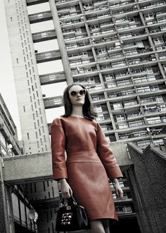 """""""Shaped and Chic"""" Sam Rollinson for Vogue Italia November 2015"""