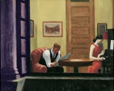 Edward Hopper Room in New York painting is shipped worldwide,including stretched canvas and framed art.This Edward Hopper Room in New York painting is available at custom size. American Realism, American Artists, Edouard Hopper, Edward Hopper Paintings, Memorial Art Gallery, Ashcan School, John Piper, Robert Rauschenberg, David Hockney