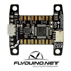 - Changed bootloader solderpads to a press button - Changed USB Port type Details: Flyduino felt the need for a modern more simplified 32bit Flightcontroller, so they went and made the KISS FC. This F