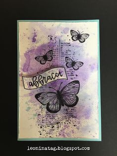 Leoninatag: Una card per Scrap4 Smile